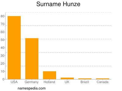 Surname Hunze