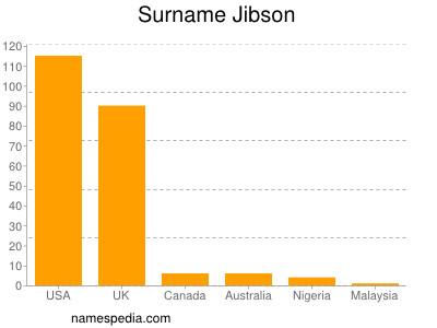 Surname Jibson
