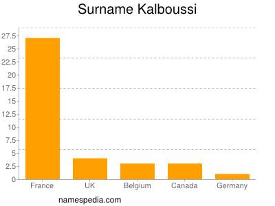 Surname Kalboussi