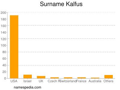 Surname Kalfus