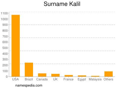 Surname Kalil