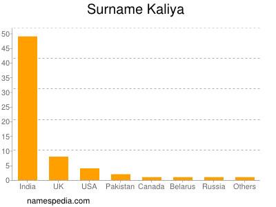 Surname Kaliya