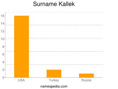 Surname Kallek
