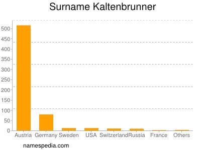Surname Kaltenbrunner