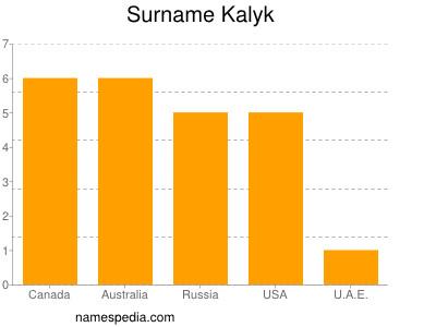Surname Kalyk