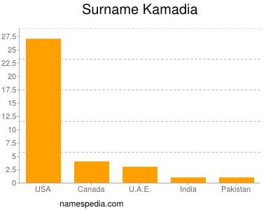 Surname Kamadia