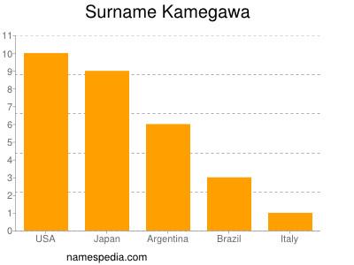 Surname Kamegawa