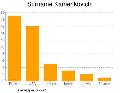 Surname Kamenkovich