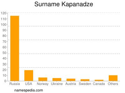 Surname Kapanadze