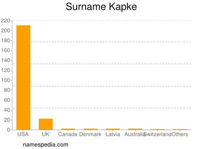 Surname Kapke