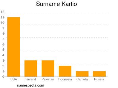 Surname Kartio