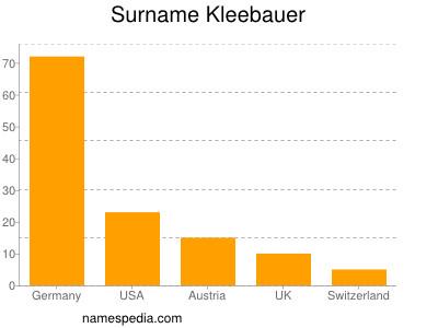 Surname Kleebauer
