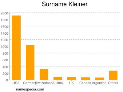 Surname Kleiner