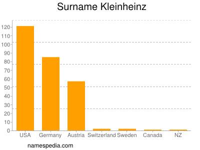 Surname Kleinheinz