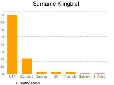 Surname Klingbiel