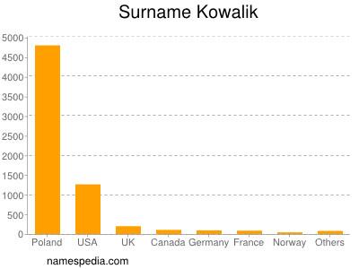 Surname Kowalik