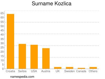 Surname Kozlica