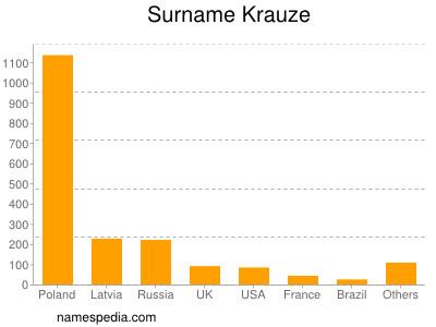 Surname Krauze