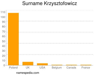 Surname Krzysztofowicz