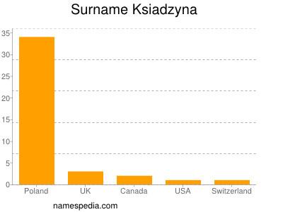 Surname Ksiadzyna