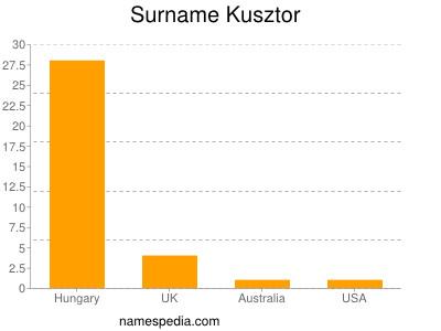 Surname Kusztor