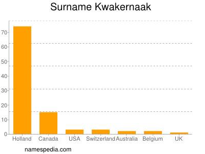 Surname Kwakernaak