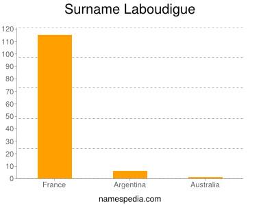 Surname Laboudigue