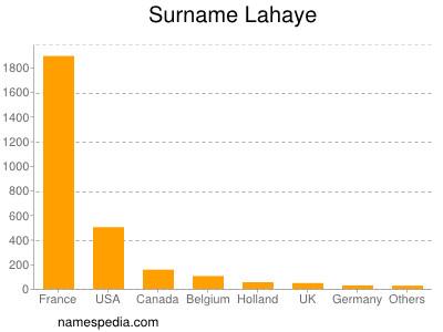 Surname Lahaye