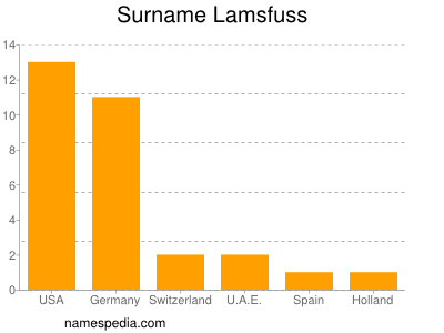 Surname Lamsfuss