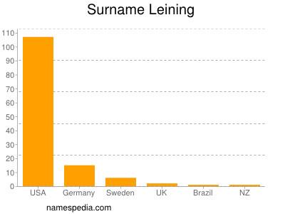 Surname Leining