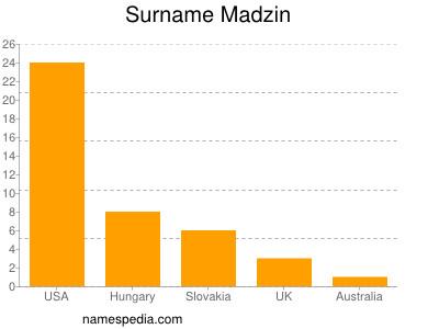 Surname Madzin