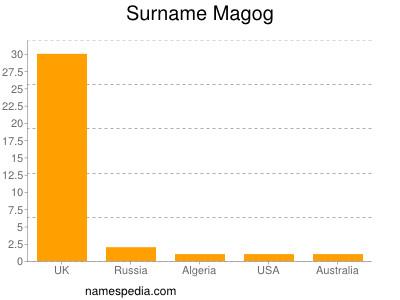 Surname Magog