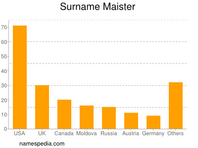 Surname Maister