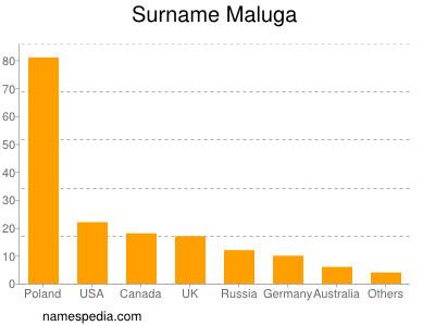 Surname Maluga