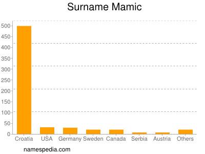 Surname Mamic