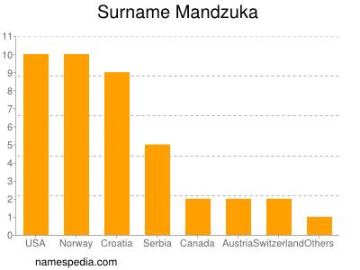 Surname Mandzuka