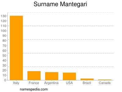 Surname Mantegari