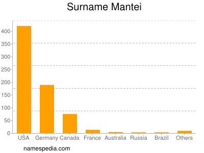 Surname Mantei