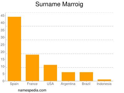 Surname Marroig