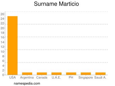 Surname Marticio
