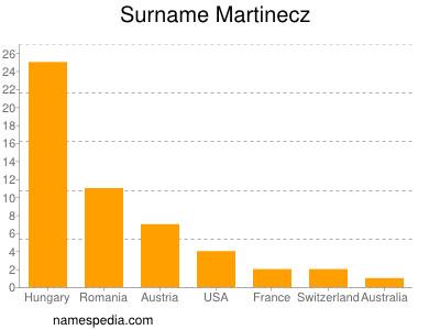 Surname Martinecz