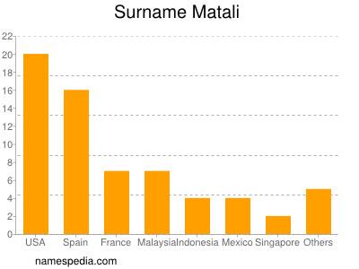 Surname Matali