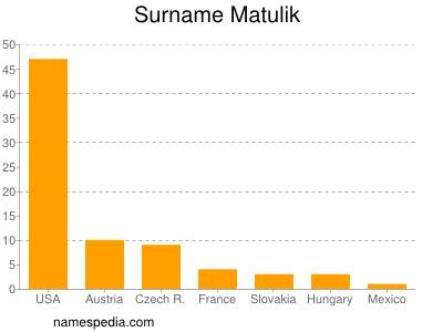Surname Matulik