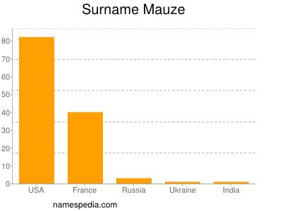 Surname Mauze