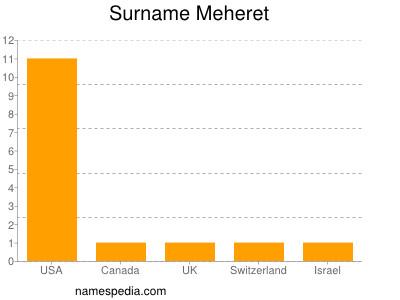 Surname Meheret