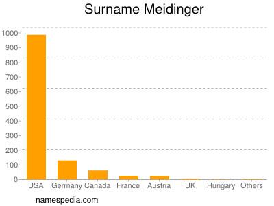 Surname Meidinger