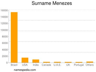 Surname Menezes