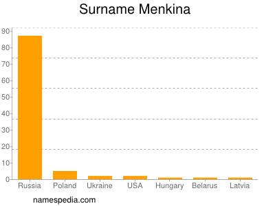 Surname Menkina