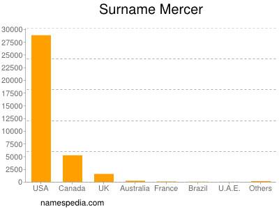 Surname Mercer