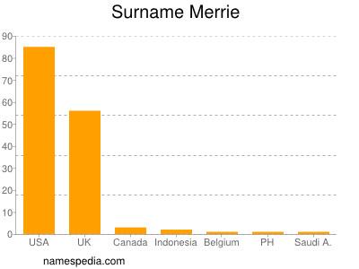 Surname Merrie